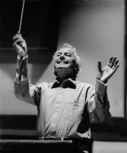 Seattle rehearsal 1989.75th birthday concert Sir Andrzej Panufnik – Lady Camilla Jessel-Panufnik