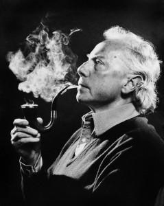 The antique pipe photo Sir Andrzej Panufnik – Lady Camilla Jessel-Panufnik
